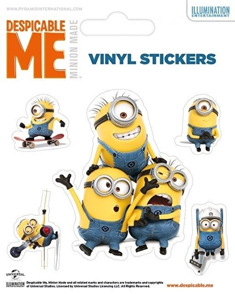 Pyramid International Despicable Me - Minions Etiket Renkli